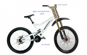 and in with the new! Concept dual shat drive bike!